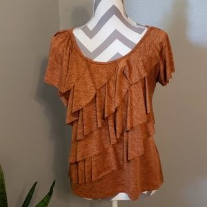 New Direction Ruffled Blouse